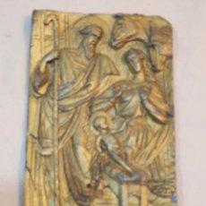 Antigüedades: RELIEVE RELIGIOSO EN PLOMO. Lote 252579650