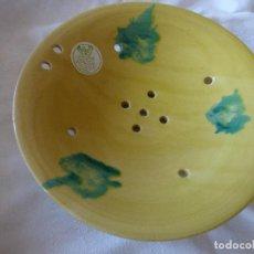 Antigüedades: ESCORREDERA, CERAMICA CATALANA.. Lote 252610090