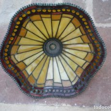 Antigüedades: LÁMPARA TIFFANY DE MESA, INTERIORS 1900. Lote 252612640