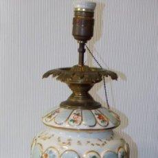Antigüedades: ANTIGUA LAMPARA DE CERAMICA. Lote 252643120