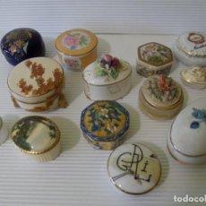 Antigüedades: LOTE DE CAJAS DE PORCELANA VARIAS MARCAS. Lote 252644070