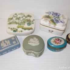 Antiquités: LOTE DE CAJAS DE PORCELANA VARIAS MARCAS. Lote 252644270