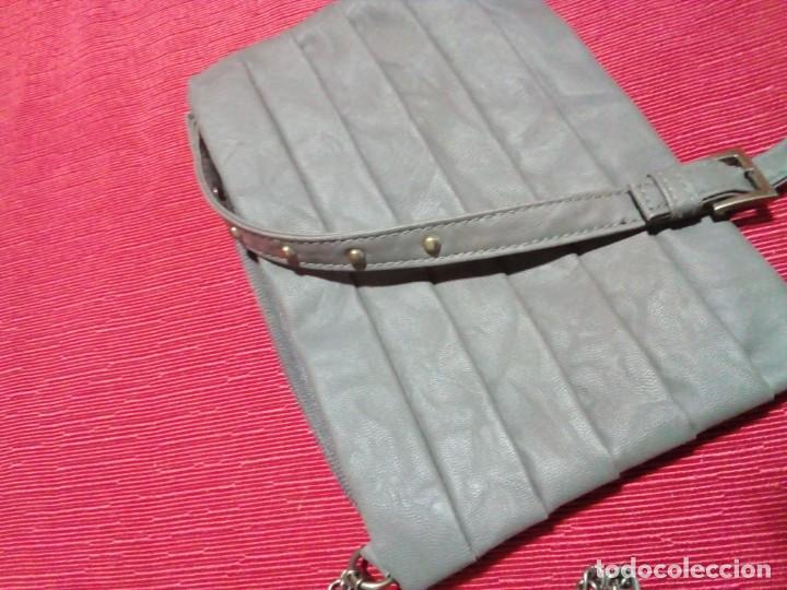 Antigüedades: bonito bolso de piel - Foto 2 - 252711020