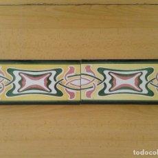 Antigüedades: C5 2 CENEFAS MODERNISTAS ART NOUVEAU. Lote 252729535