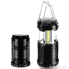 Antigüedades: LINTERNA CAMPING LAMPARA. Lote 252750650