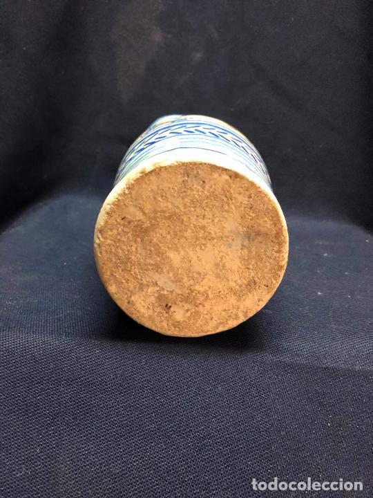 Antigüedades: Jarrita de triana con restauracion en boca reseñado en fotos - Foto 6 - 252762725