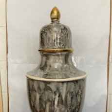 Antigüedades: ANTIGUO TIBOR DE PORCELANA SKARD , ALTURA 44 CM.AÑOS 60,. Lote 252777955