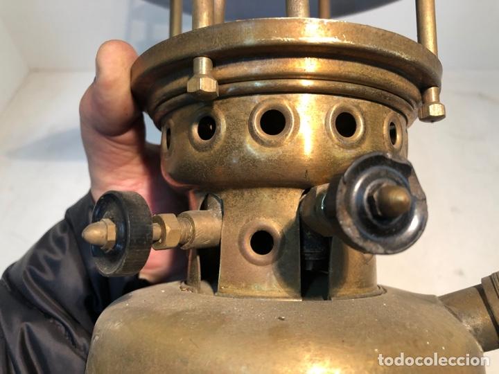 Antigüedades: FOCUS, LAMPARA DE PETROLEO - TIPO 00 - BADALONA - ORIGINAL. ANTIGUA - Foto 7 - 252823430