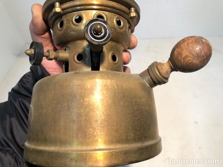 Antigüedades: FOCUS, LAMPARA DE PETROLEO - TIPO 00 - BADALONA - ORIGINAL. ANTIGUA - Foto 8 - 252823430