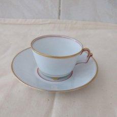 Antigüedades: PRECIOSO SOLITARIO DE CAFÉ DE PORCELANA THOMAS BAVARIA .GERMANY. Lote 252838950