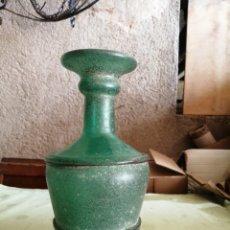 Oggetti Antichi: BOTELLA DE VIDRIO MALLORQUÍN SOPLADO. Lote 252959990