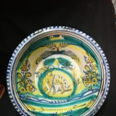 Antigüedades: LEBRILLO DE CERÁMICA DE TRIANA S. XIX. Lote 252997710