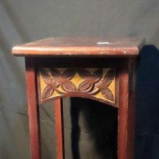 Antigüedades: MAGNIFICA PEANA MODERNISTA, ART NOUVEAU, C1900, PEDESTAL, REPISA. Lote 253015360