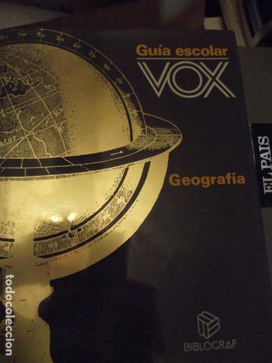 Antigüedades: Tomo Grande 30 x 22 x 4cm VOX Guía Escolar Geografía año 1990 . 400 pag - Foto 9 - 253045210