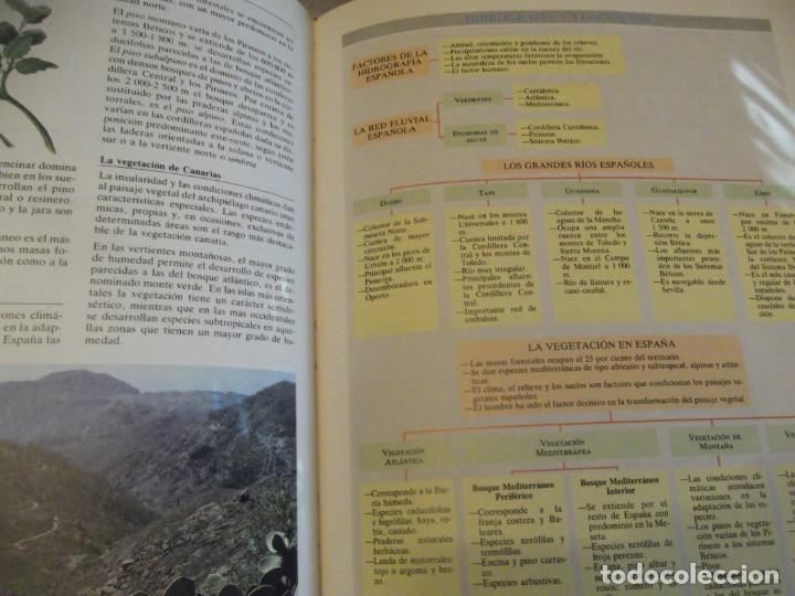 Antigüedades: Tomo Grande 30 x 22 x 4cm VOX Guía Escolar Geografía año 1990 . 400 pag - Foto 3 - 253045210