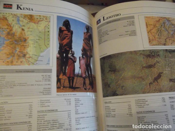 Antigüedades: Tomo Grande 30 x 22 x 4cm VOX Guía Escolar Geografía año 1990 . 400 pag - Foto 4 - 253045210