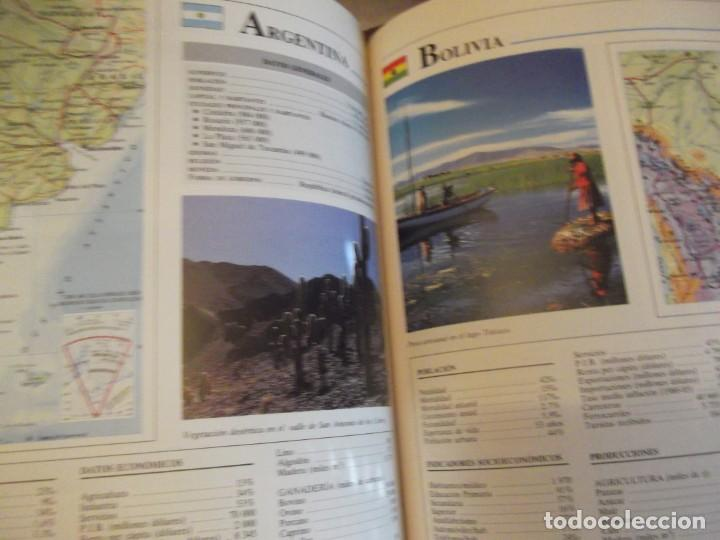 Antigüedades: Tomo Grande 30 x 22 x 4cm VOX Guía Escolar Geografía año 1990 . 400 pag - Foto 5 - 253045210