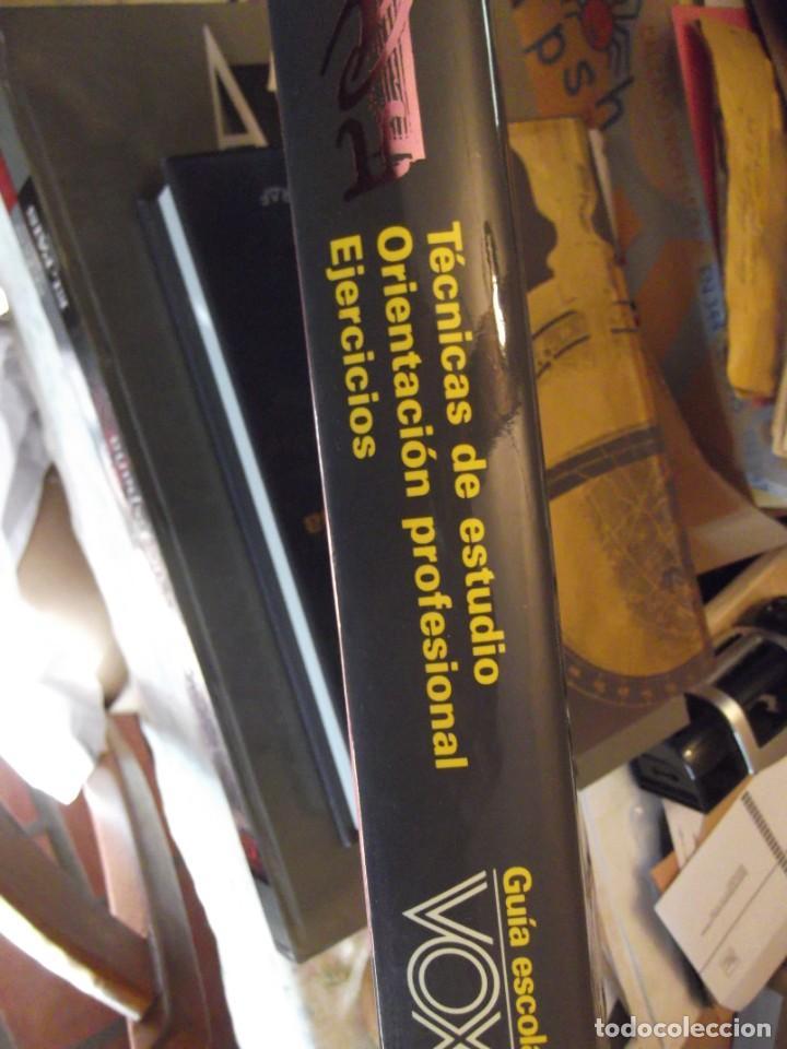 Antigüedades: Gran Tomo VOX 30x22x4cm Guía ESCOLAR Técnicas estudio Orientación profesional y Ejercicios 420 pag - Foto 2 - 253045470