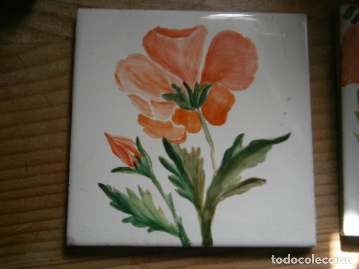 ANTIGUO AZULEJO DE HERMANOS NOMUDEU (Antigüedades - Porcelanas y Cerámicas - Azulejos)
