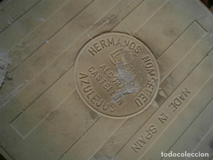 Antigüedades: ANTIGUO AZULEJO DE HERMANOS NOMUDEU - Foto 3 - 253084745