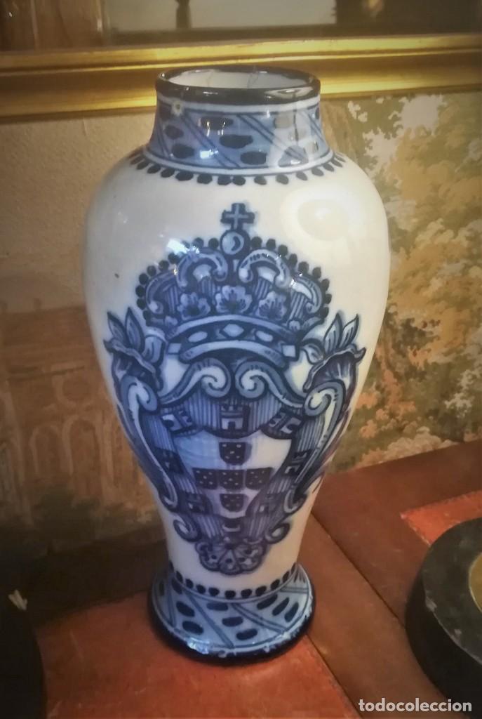 JARRON DE CERÁMICA DE PORTUGAL 1939 (Antigüedades - Porcelanas y Cerámicas - Otras)