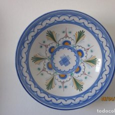Antigüedades: PLATO DE CRAMICA DE TALAVERA FIRMADO. Lote 253120095