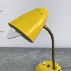 Oggetti Antichi: LAMPARA FLEXO ANTIGUA TIPO FASE DE 28 CMS. ALTURA Y 12 CMS. DIÁMETRO DE BASE. Lote 253133270