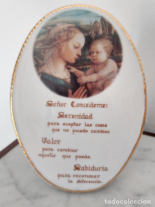 Antigüedades: Oración de la Serenidad en porcelana marca Cister - La Palma - Cartagena - - Foto 9 - 253143230