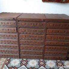 Antigüedades: ARCHIVADORES METÁLICOS ANTIGUOS. Lote 253211370