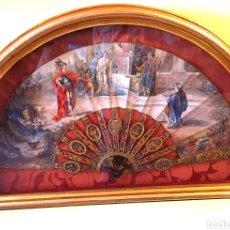 Antiguidades: ABANICO SIGLO XVIII CAREY.. Lote 253213075