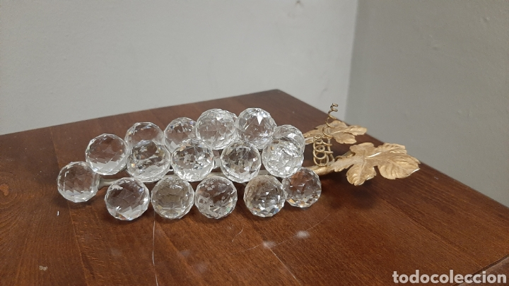 RACIMO DE UVAS DE CRISTAL SWAROVSKI (Antigüedades - Cristal y Vidrio - Swarovski)