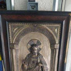 Antigüedades: CUADRO, SAGRADO CORAZÓN DE JESÚS.. Lote 253224900