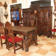 Antigüedades: DESPACHO ANTIGUO RENACIMIENTO ESPAÑOL. Lote 253229920