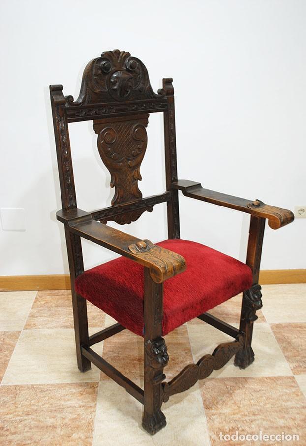 Antigüedades: DESPACHO ANTIGUO RENACIMIENTO ESPAÑOL - Foto 2 - 253229920