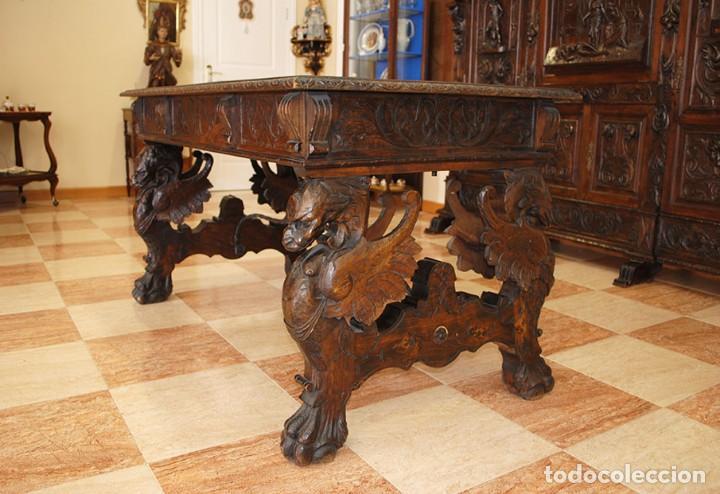 Antigüedades: DESPACHO ANTIGUO RENACIMIENTO ESPAÑOL - Foto 6 - 253229920