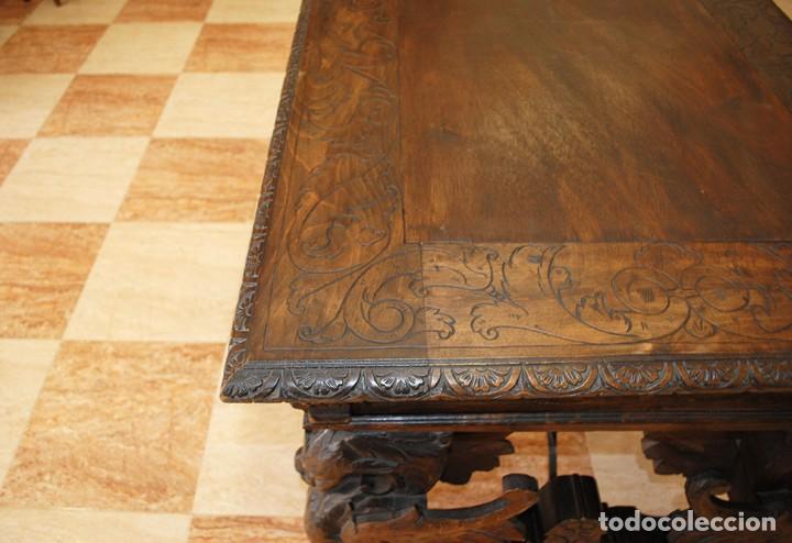 Antigüedades: DESPACHO ANTIGUO RENACIMIENTO ESPAÑOL - Foto 10 - 253229920