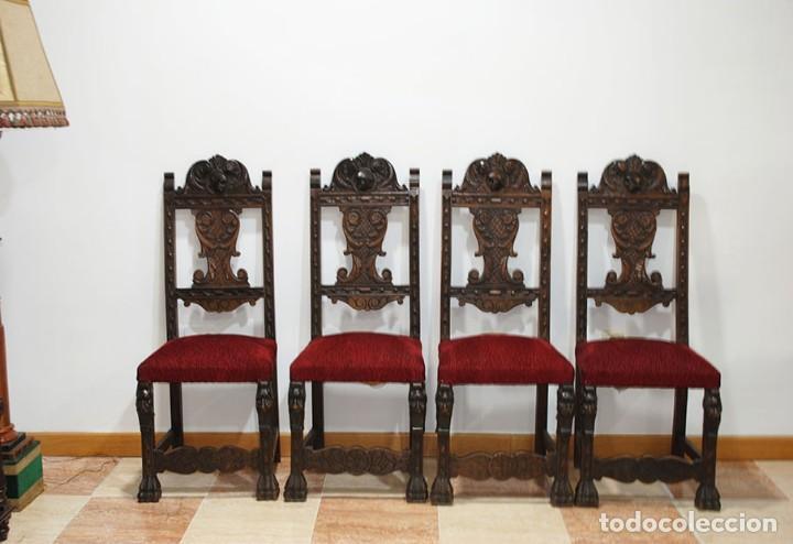 Antigüedades: DESPACHO ANTIGUO RENACIMIENTO ESPAÑOL - Foto 18 - 253229920