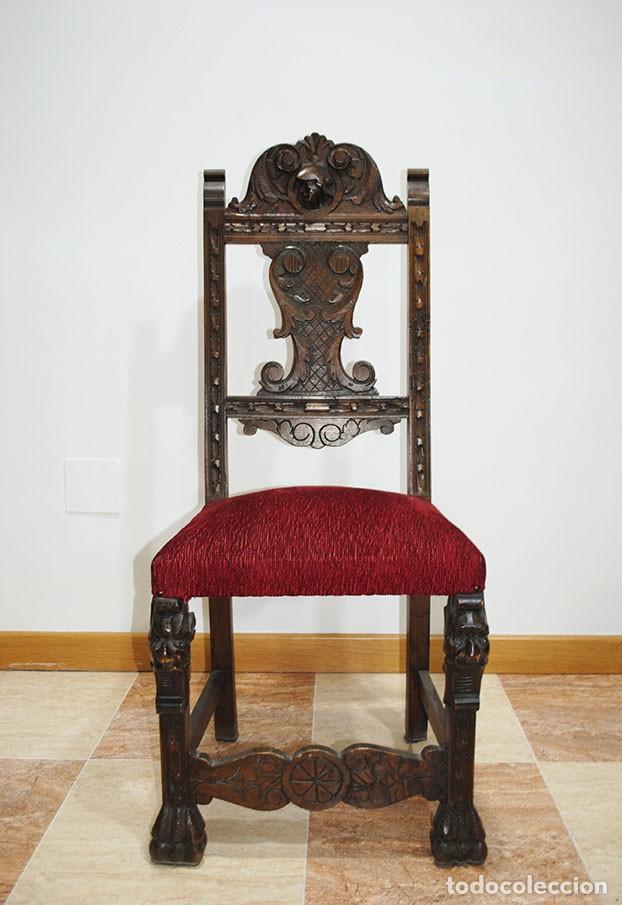 Antigüedades: DESPACHO ANTIGUO RENACIMIENTO ESPAÑOL - Foto 19 - 253229920