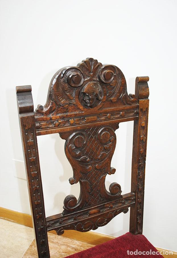 Antigüedades: DESPACHO ANTIGUO RENACIMIENTO ESPAÑOL - Foto 21 - 253229920