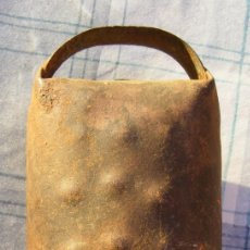 Antiquités: CENCERRO ORIGINAL, MUY BUEN SONIDO, MIDE 13 CM. Lote 253234180