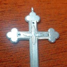 Antigüedades: COLGANTE DE ANTIGUA Y GRANDE CRUZ CONVENTUA. Lote 253255535