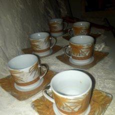 Antigüedades: PRECIOSO JUEGO DE CAFE COMPLETO ESTILO ARTDÉCO. Lote 253255655