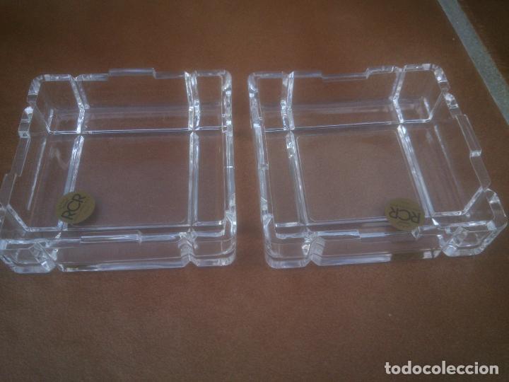 Antigüedades: Bombonera RCR (Italia) Cristal tallado al plomo 24% ¡Original! Nueva ¡Coleccionista! - Foto 3 - 253257280