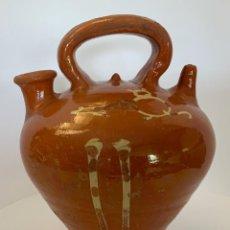 Antigüedades: BOTIJO LA BISBAL, GATO (PPIO.S.XX). Lote 253276625