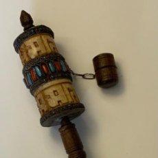 Antigüedades: MOLINILLO ORACIÓN TIBETANO. Lote 253279815