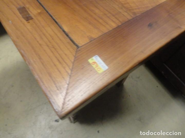 Antigüedades: Aparador bajo chino antiguo realizado en madera de olmo - Foto 10 - 253315350