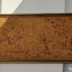 Antigüedades: TAPIZ ANTIGUO. Lote 253323300