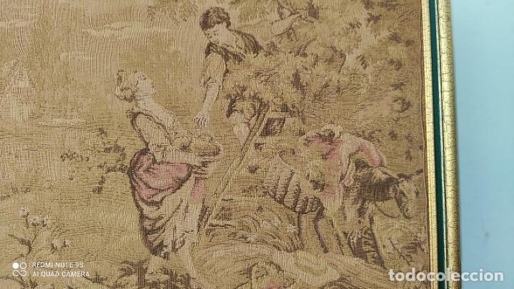 Antigüedades: tapiz antiguo - Foto 3 - 253323300