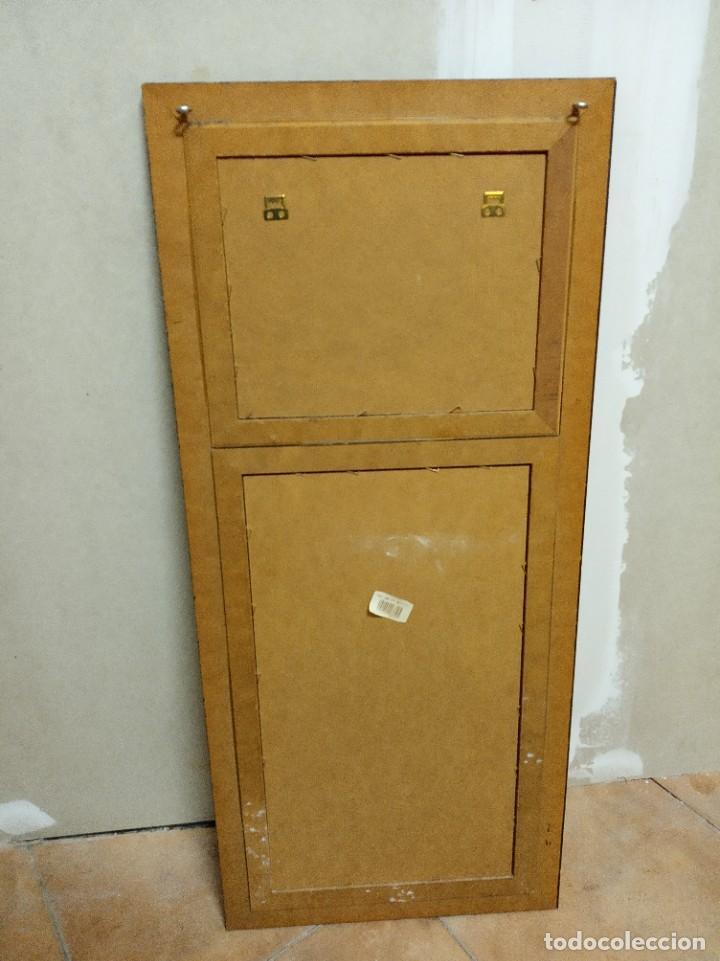 Antigüedades: Espejo Trumeau con lámina fragata - Foto 4 - 253353265