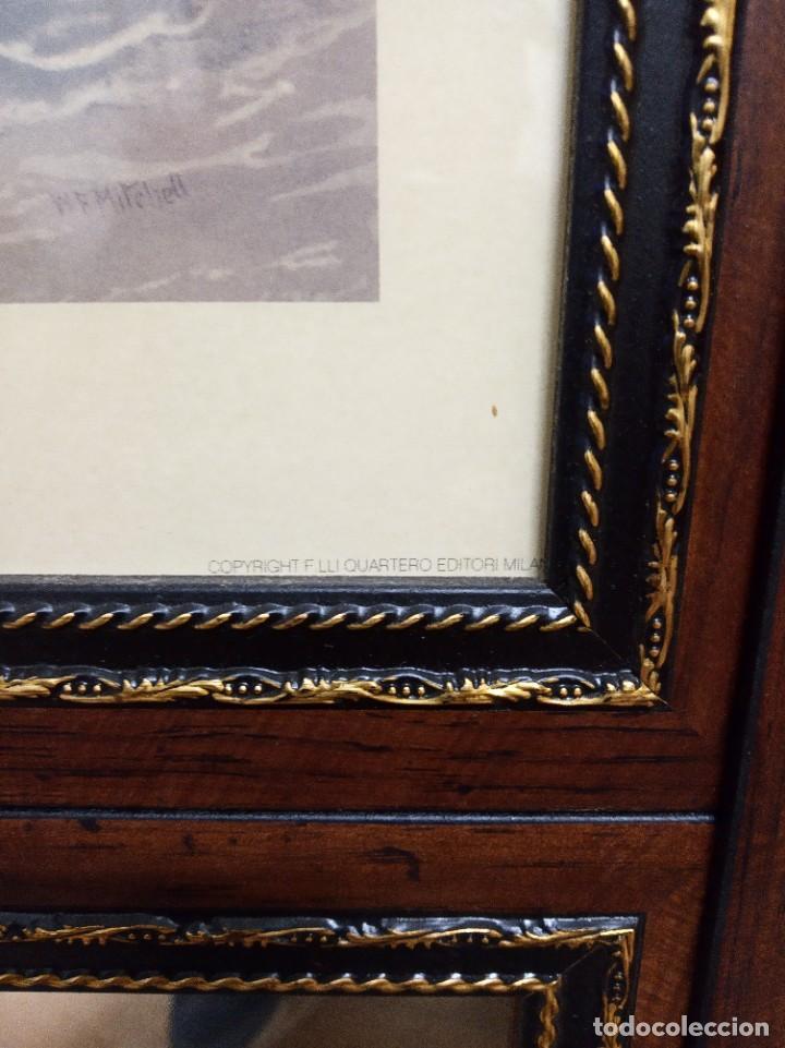Antigüedades: Espejo Trumeau con lámina fragata - Foto 10 - 253353265